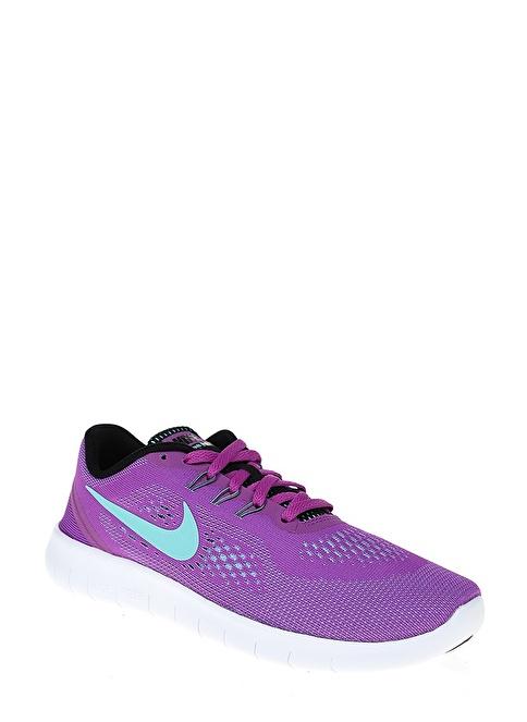 Nike Nıke Free Rn (Gs) Mor